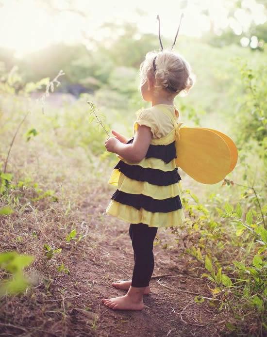 Fantasia de Abelhinha para Crianças