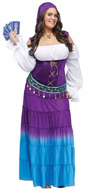 Fantasia de Cigana para Carnaval