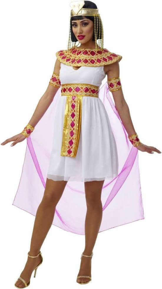 Fantasia de Cleópatra para Carnaval