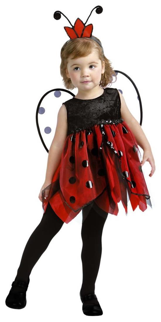 Fantasia de joaninha infantil como fazer em casa - Disfraz de mariquita de nina ...