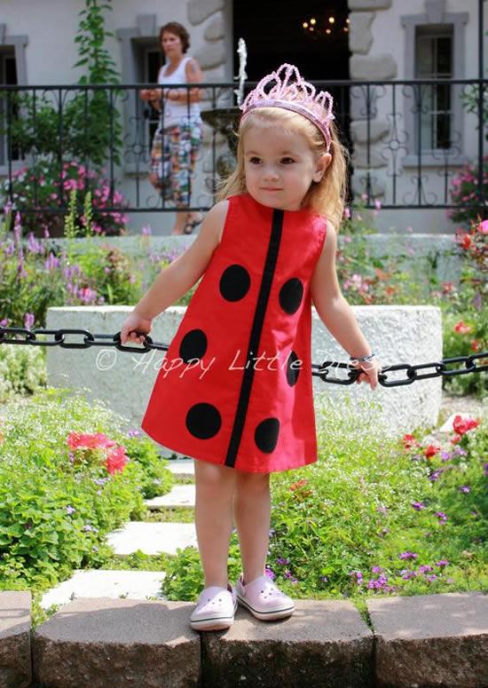 Fantasia de Joaninha Infantil