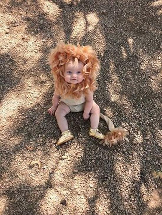 Fantasia de Leãozinho para Crianças