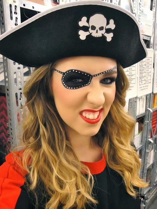 Fantasia de Pirata para Carnaval