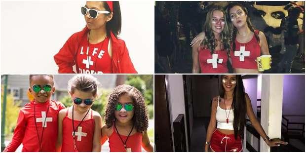 Fantasia de Salva-vidas Feminina