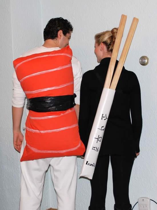 Fantasia Criativa de Sushi