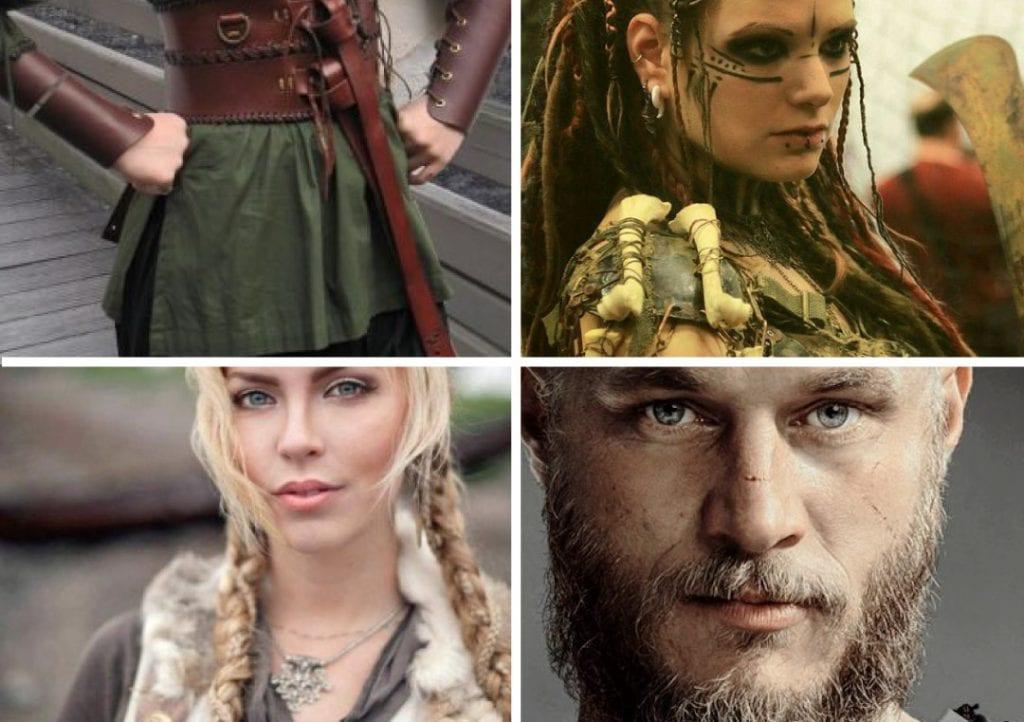 Fantasia de Vikings para o Carnaval