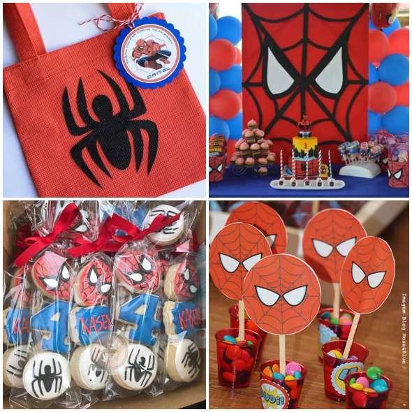 Lembrancinhas para Festa Homem Aranha
