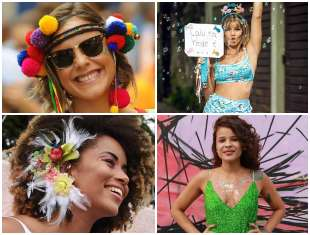 Makes e Looks para Carnaval