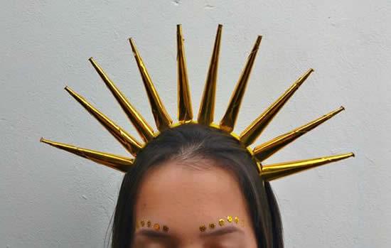 Ideias para fazer Tiara de Sol