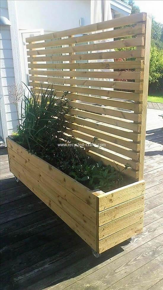 Decoração Criativa com Pallets para Jardim