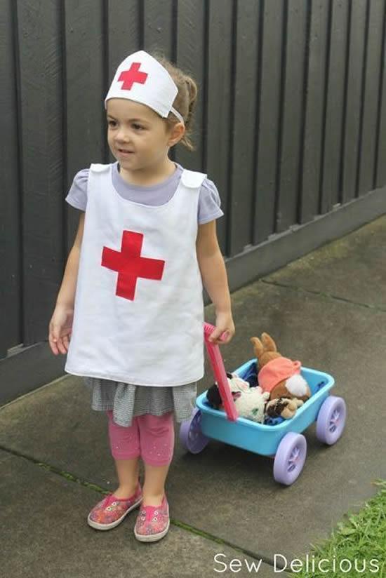 Fantasia de Enfermeira para Carnaval