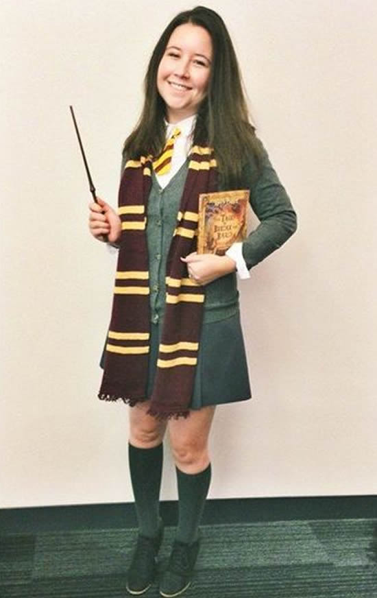 Fantasia Feminina de Harry Potter