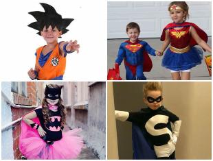 Fantasia Infantil de Super-herói