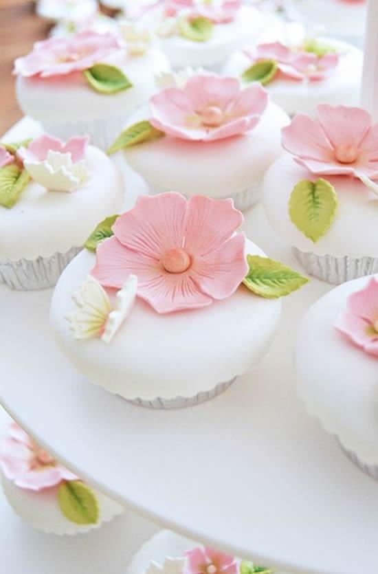 Lindos Cupcakes para Casamento