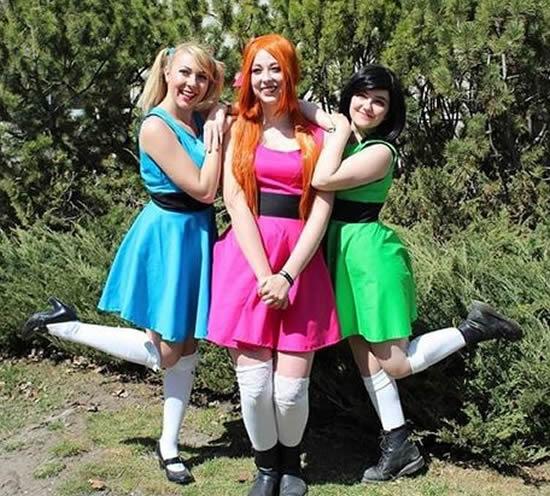 Fantasia de Meninas Super Poderosas