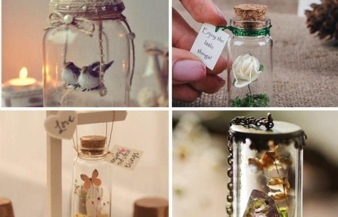 50 ideias de lembrancinha mensagem na garrafa