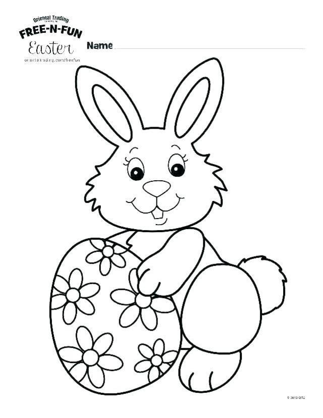 Coelhinhos da páscoa para colorir