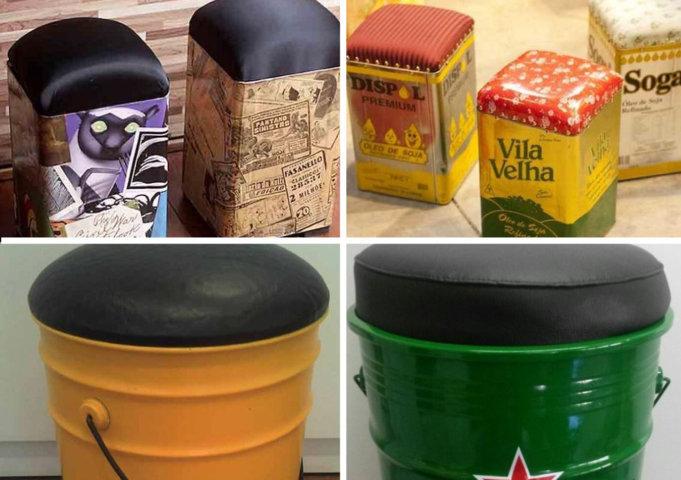 Como fazer puff com lata de tinta para decoração (7)