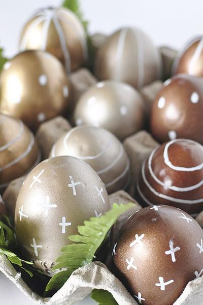 lindos ovos dourados