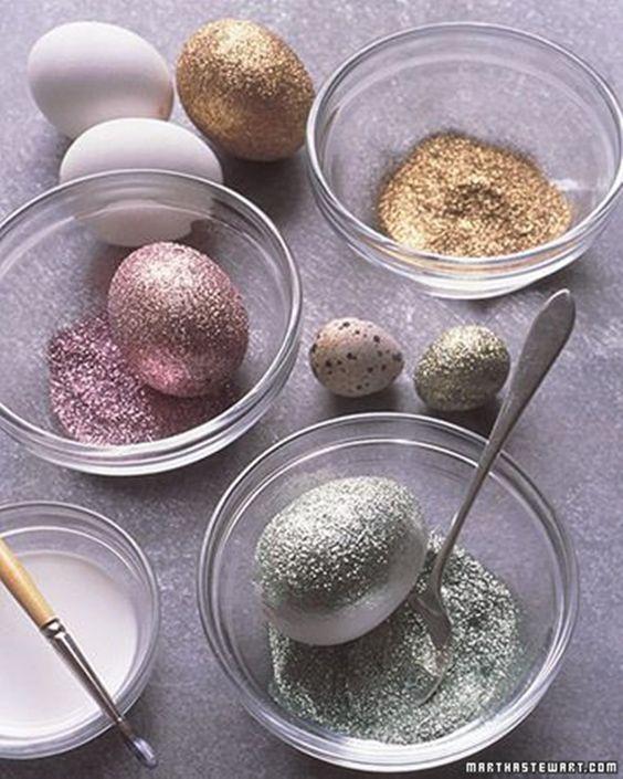 como pintar ovos de páscoa