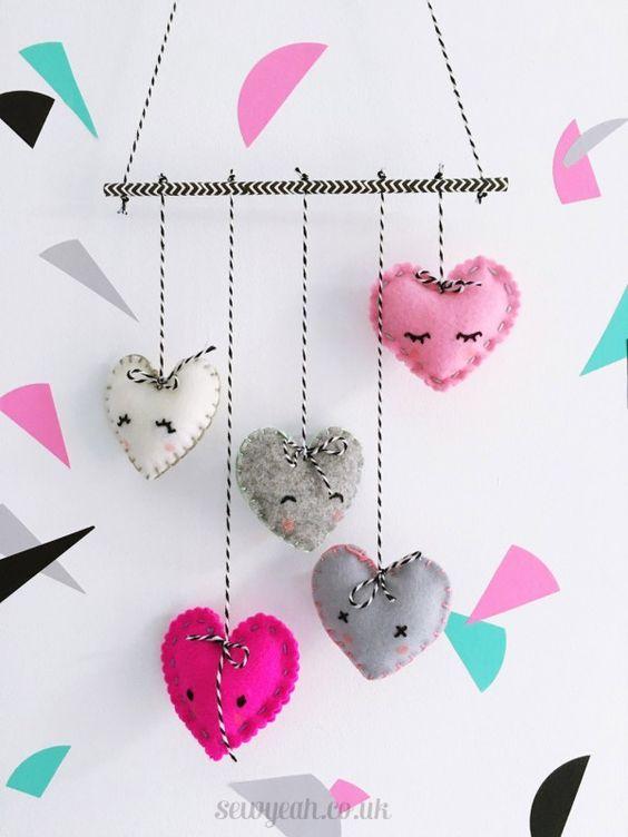ideias de decoração com coração