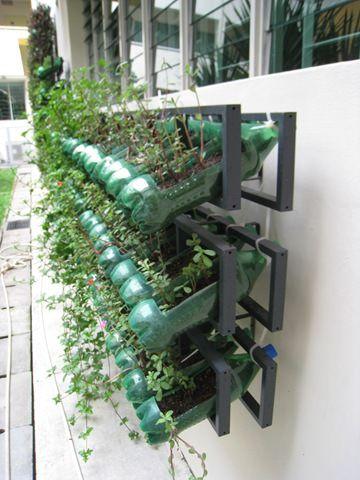 exemplo de sustentação para horta