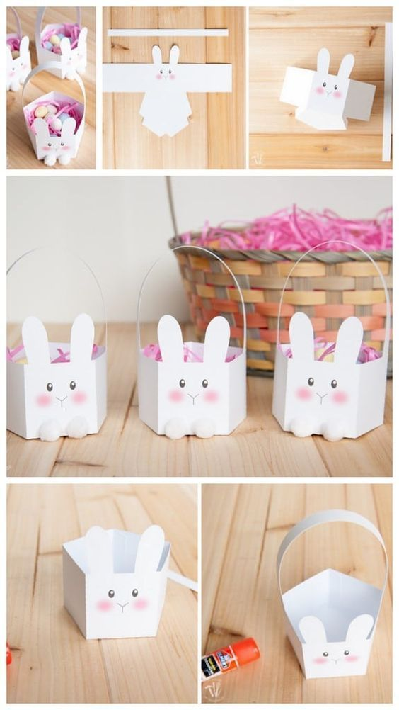 caixinhas de coelhinho