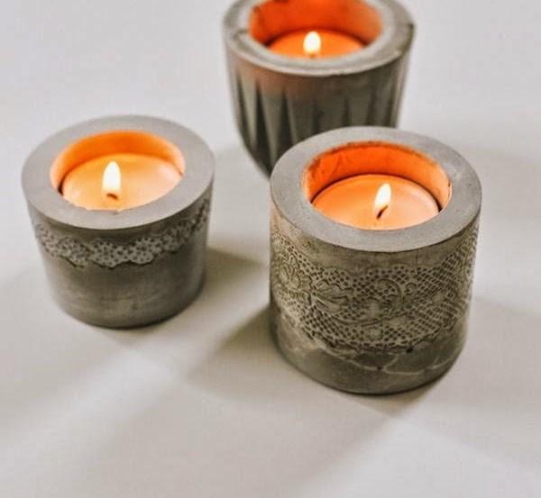 luminarias e velas com concreto (1)