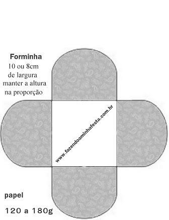 molde de forminhas de brigadeiro