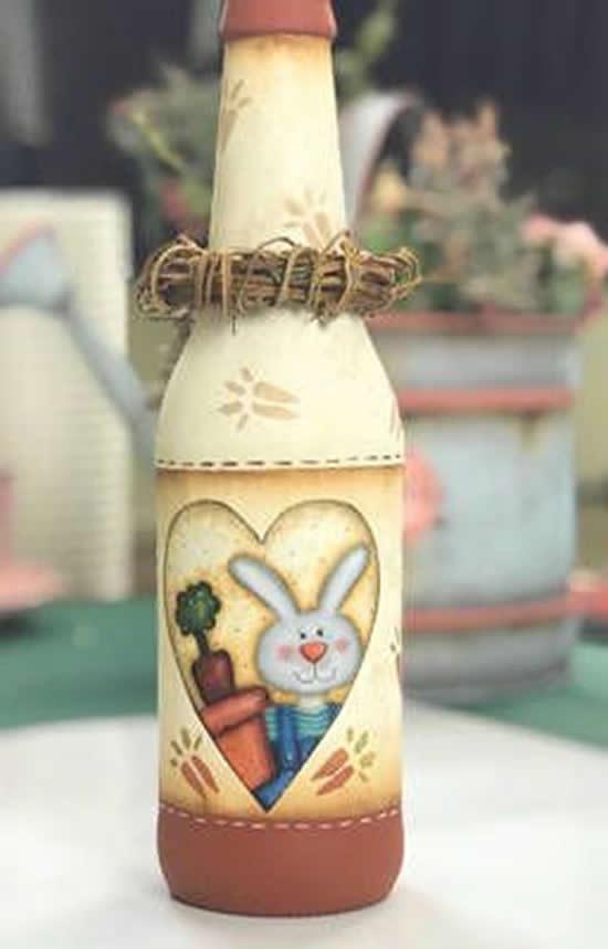 Artesanatos com Sucata para Páscoa