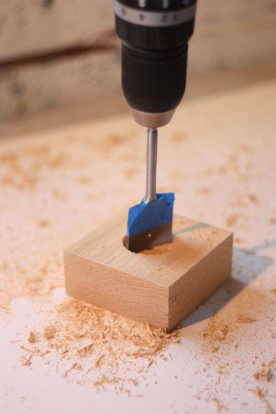 broca chata para fazer furos em madeiras