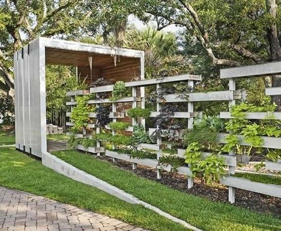Decoração de Jardim com Paletes