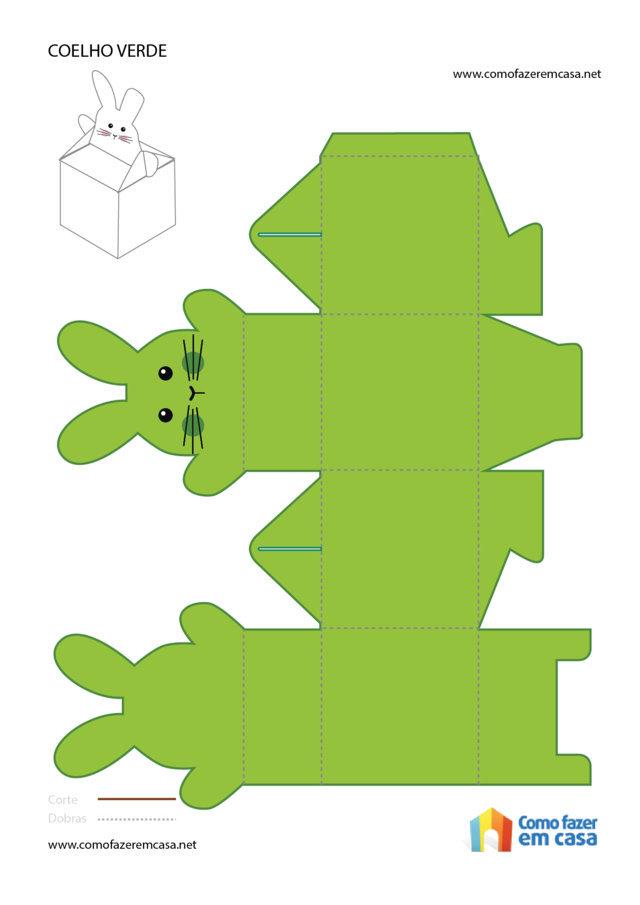 30 moldes de caixinhas para a páscoa