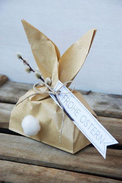 sacolinhas de papel para a páscoa