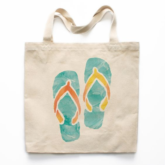 pintura aquarela de sandálias