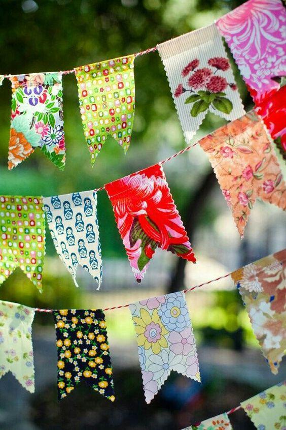 lindas bandeirinhas de festa junina