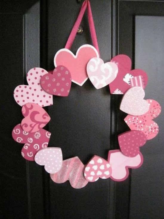 Coração de Papel Lindo e Fácil de Fazer