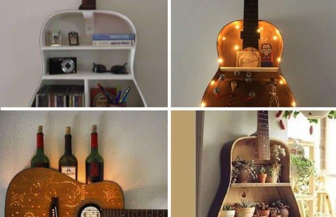 decoração com violões velhos (23)