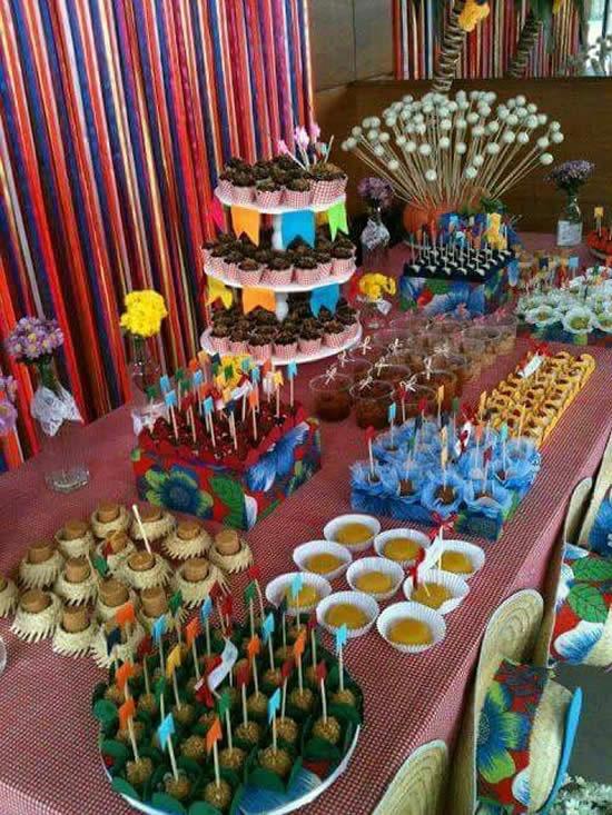 Decoração para Festa Junina