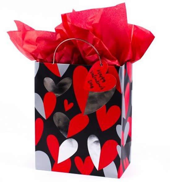 Embrulhos para presente de Dia dos Namorados