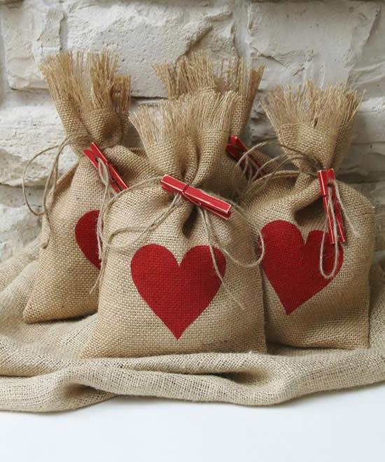 Embrulhos para o presente do seu amor