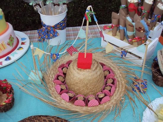 Dicas com Chapéu de Palha para Festa Junina