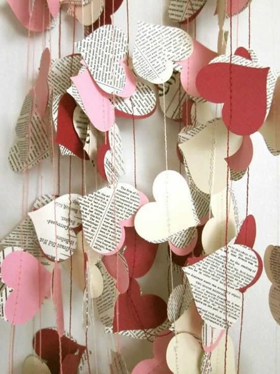Guirlanda Linda para o Dia dos Namorados