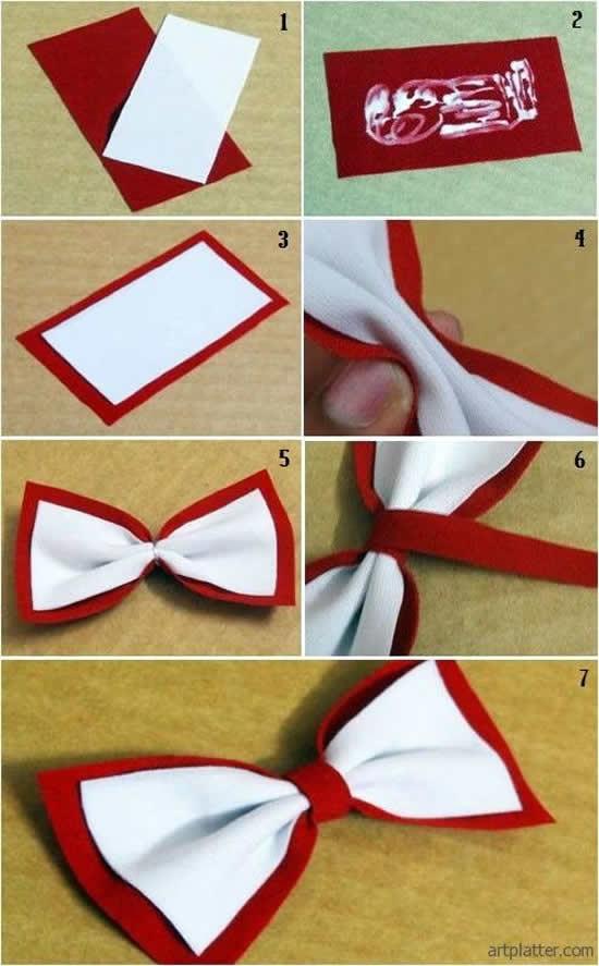 Como fazer Laço de Tecido