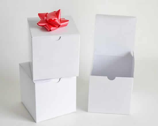 Caixa de Papel com Moldes