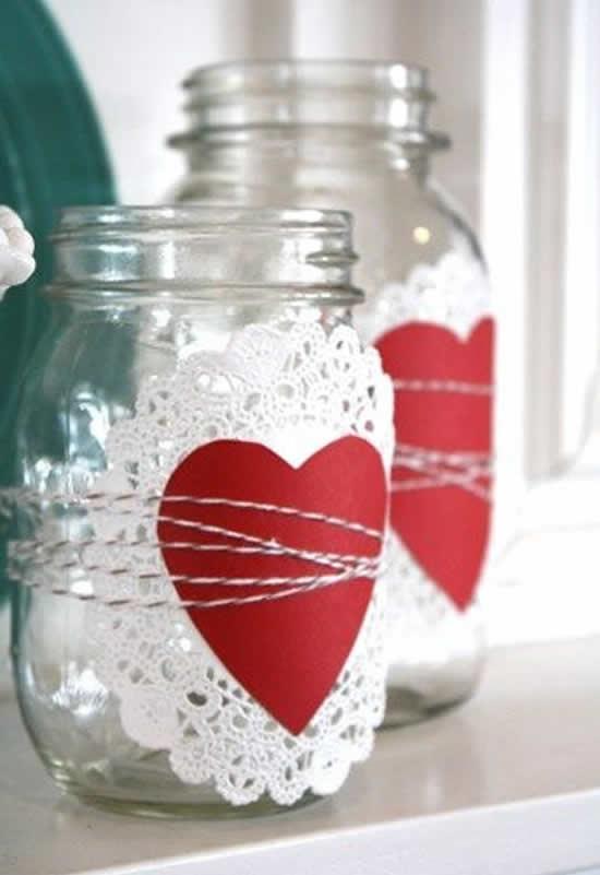 Potes Decorados para Dia dos Namorados