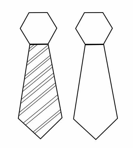 moldes de gravatas para dia dos pais