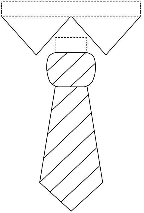 molde de gravata