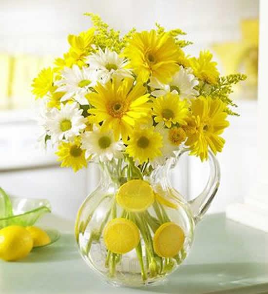 Arranjo de flores maravilhosos