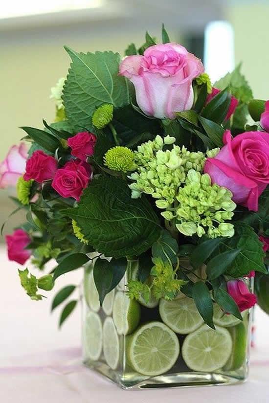 Lindos arranjos com flores